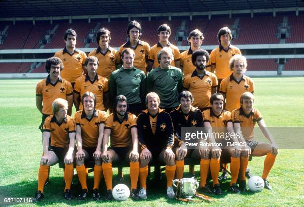 Wolverhampton Wanderers first team squad 198081 Rafael Villazan Kenny Hibbitt Colin Brazier Wayne Clarke Dave Thomas John Richards Geoff Palmer John...