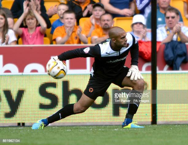 Wolverhampton Wanderers goalkeeper Carl Ikeme