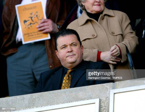Wolverhampton Wanderers' Jez Moxey looks unhappy during the game against Watford