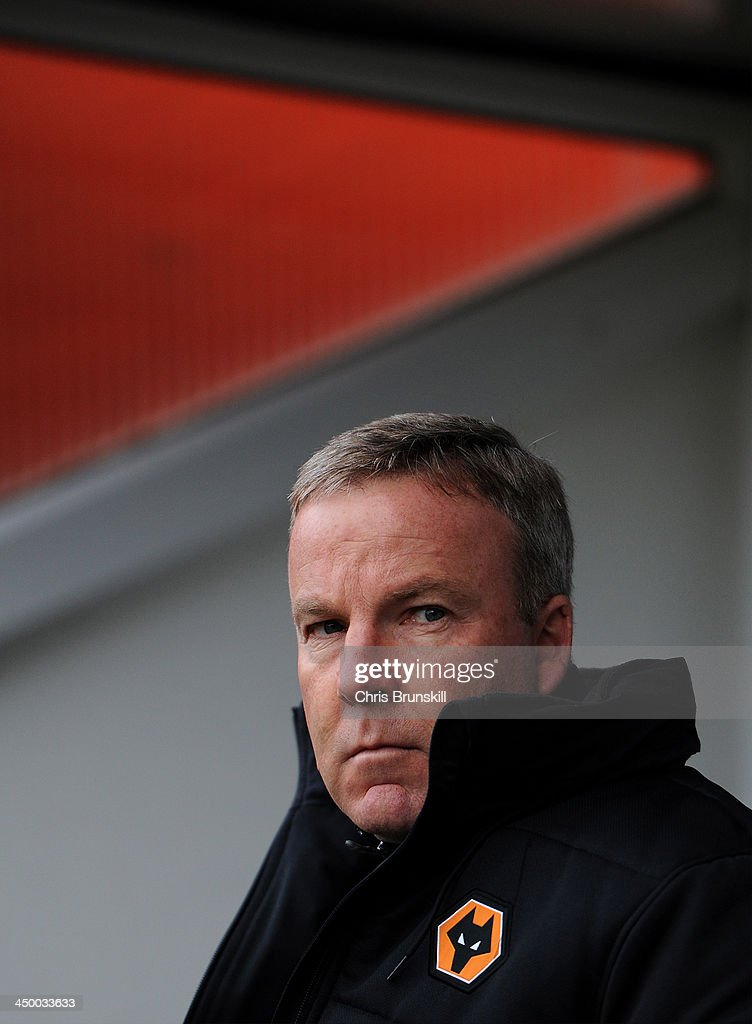Wolverhampton Wanderers manager Kenny Jackett looks on during the Sky Bet League One match between Notts County and Wolverhampton Wanderers at Meadow Lane on November 16, 2013 in Nottingham, England.