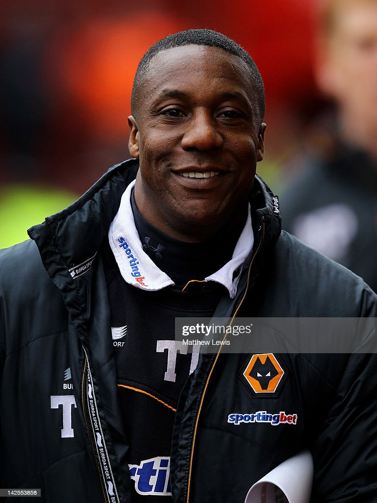 Wolverhampton Wanderers Manager Terry Connor looks on prior to the Barclays Premier League match between Stoke City and Wolverhampton Wanderers at the Britannia Stadium on April 7, 2012 in Stoke on Trent, England.
