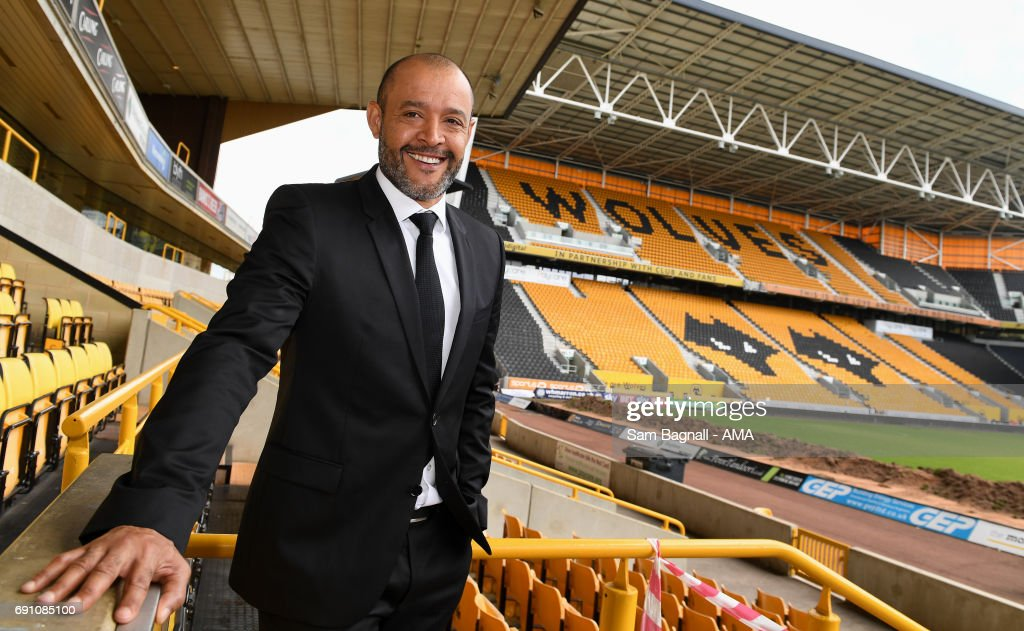 Wolverhampton Wanderers Unveil New Manager Nuno Espirito Santo at Molineux on June 1, 2017 in Wolverhampton, England.