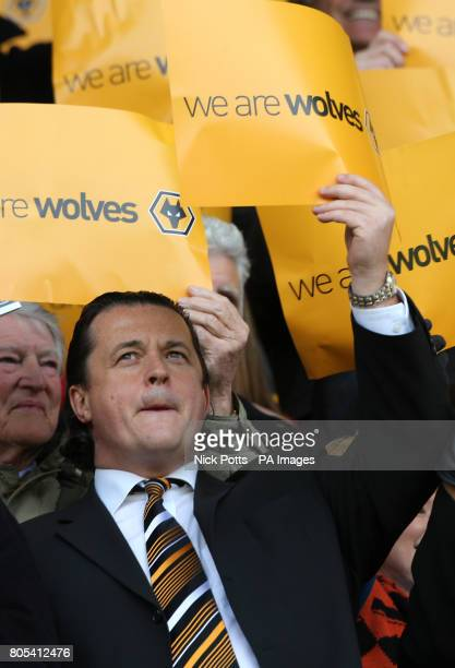 Wolverhampton Wanderers's Chief Executive Jez Moxey before the CocaCola Championship match at Molineux Stadium Wolverhampton
