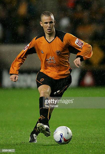 Wolves Forward Kenny Miller on the ball during The Coca Cola Championship match between Wolverhampton Wanderers and Burnley at Molineux on September...