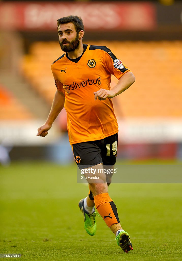Wolves player Jack Price in action during the Capital One Cup First Round match between Wolverhampton Wanderers and Newport County at Molineux on...