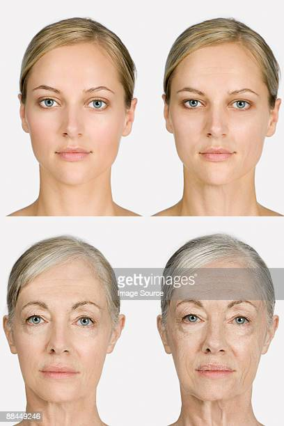 Woman aging