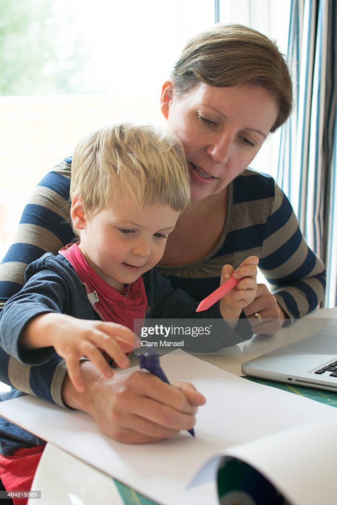 woman and child : Stock Photo