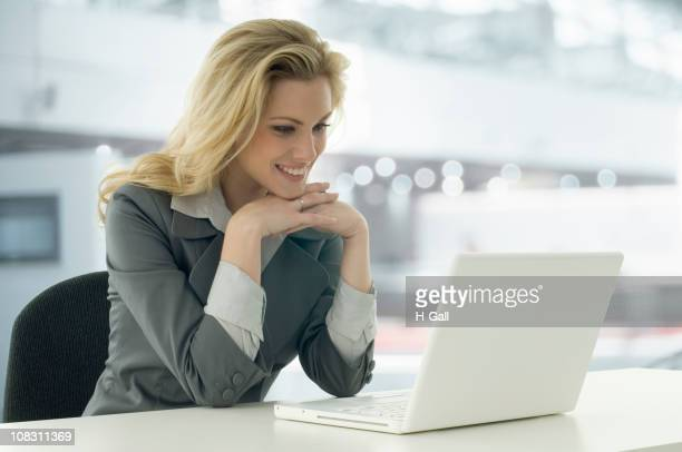 Woman and Laptop