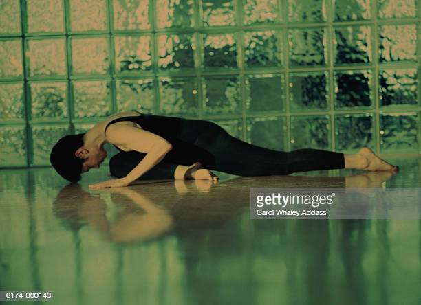 Woman and Reflection in Floor
