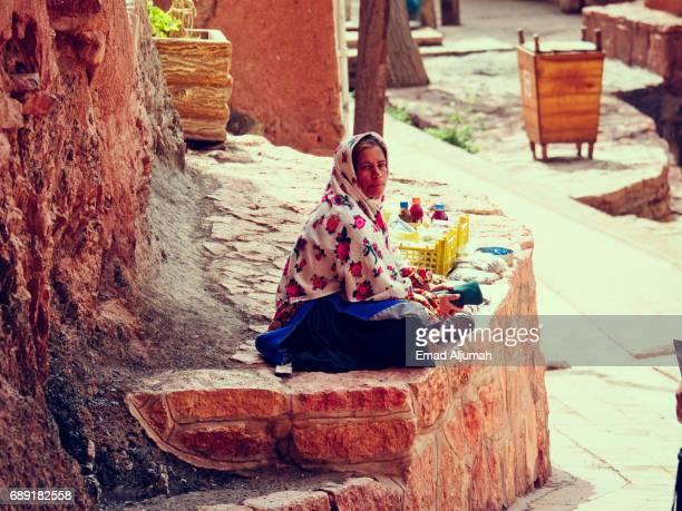 Woman at Abyaneh Village in Iran - 28 April 2017