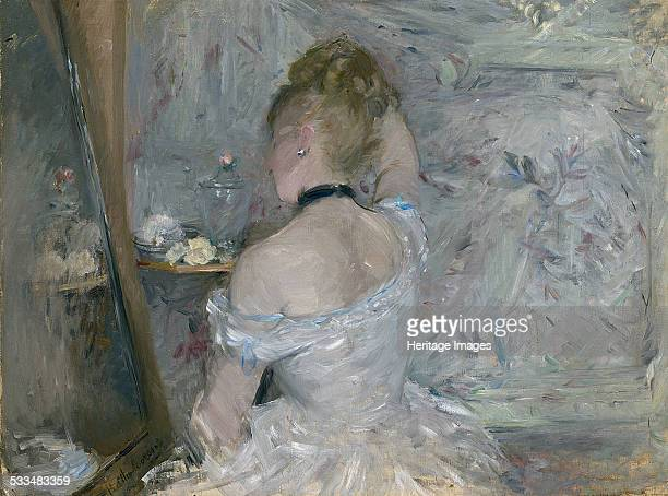 Woman at Her Toilette 18751880 Found in the collection of Art Institute of Chicago