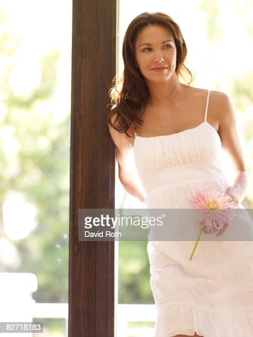 woman at home : Stock Photo