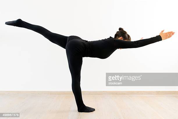 Woman at Pilates Excercise