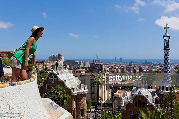 Woman at Prak Güell