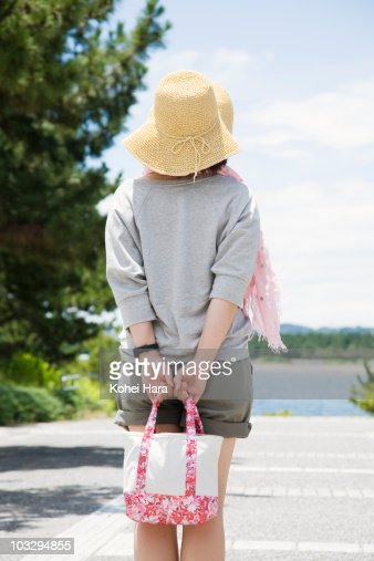 woman at seaside : Stock Photo