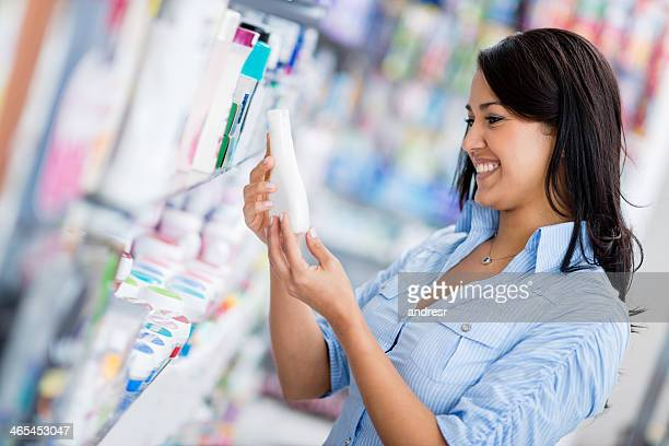 Woman at the drugstore