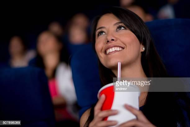 Woman at the movies