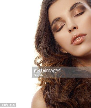 Mujer de belleza : Foto de stock