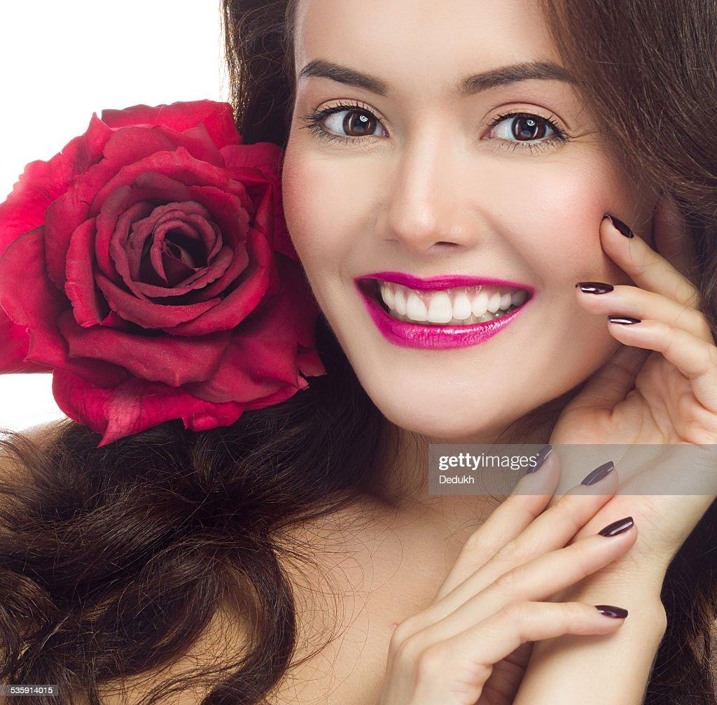 Mulher de Beleza : Foto de stock