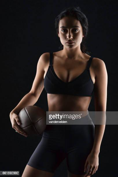 Woman before Rugger practice