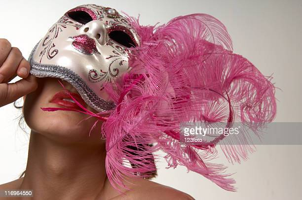 Woman Behind the Mask