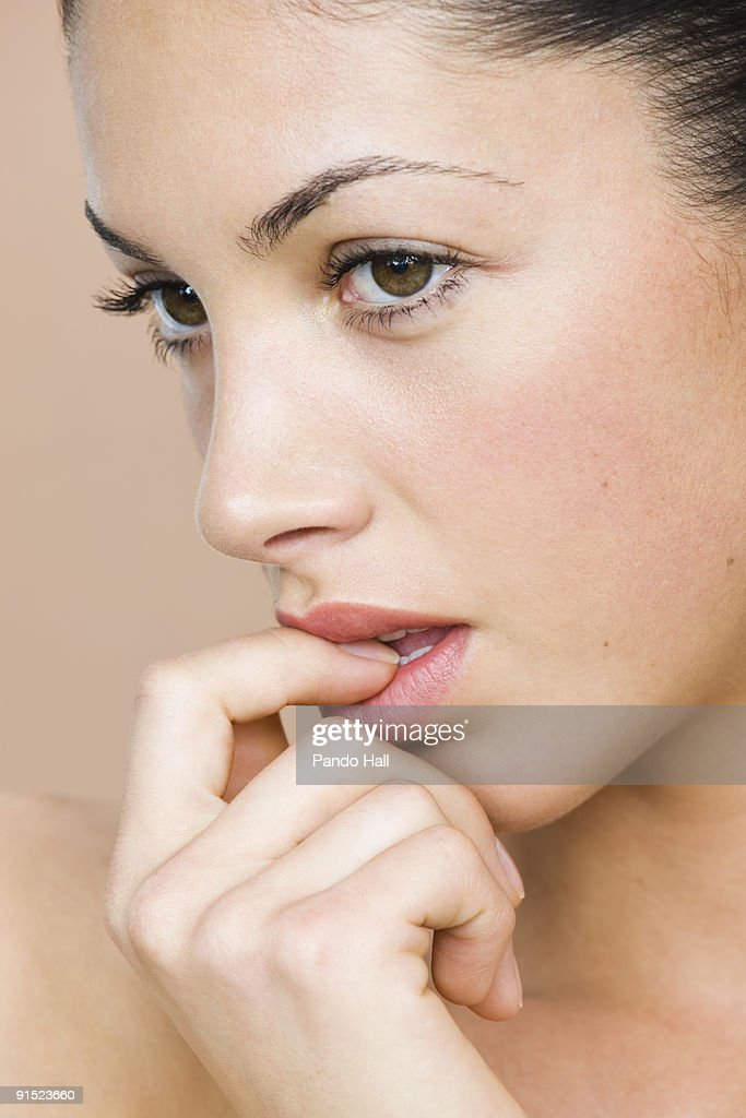 close up fingering