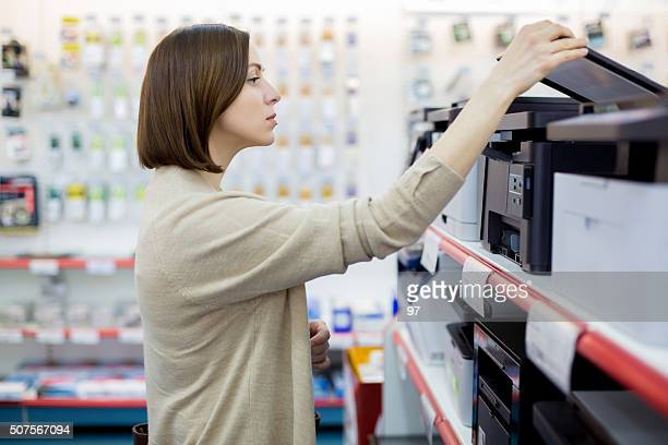 woman buys a copies