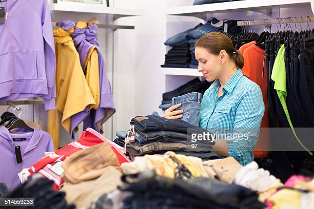 Mulher compras de Roupas