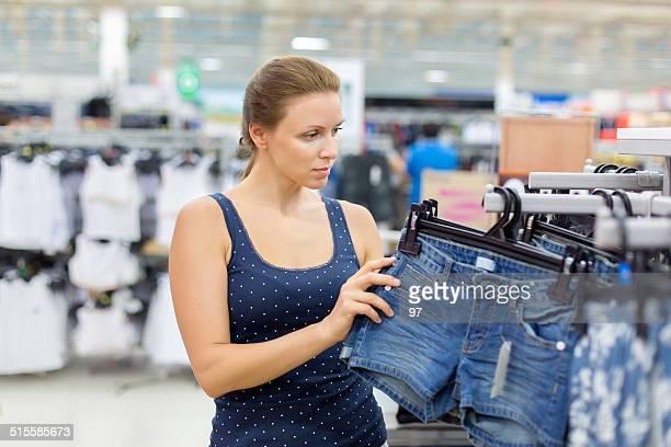 Calções mulher compra