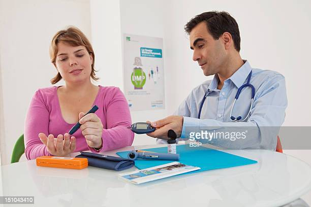 Woman Consulting For Diabetes