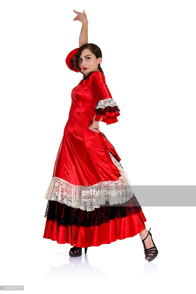 Woman Dancing the Flamenco