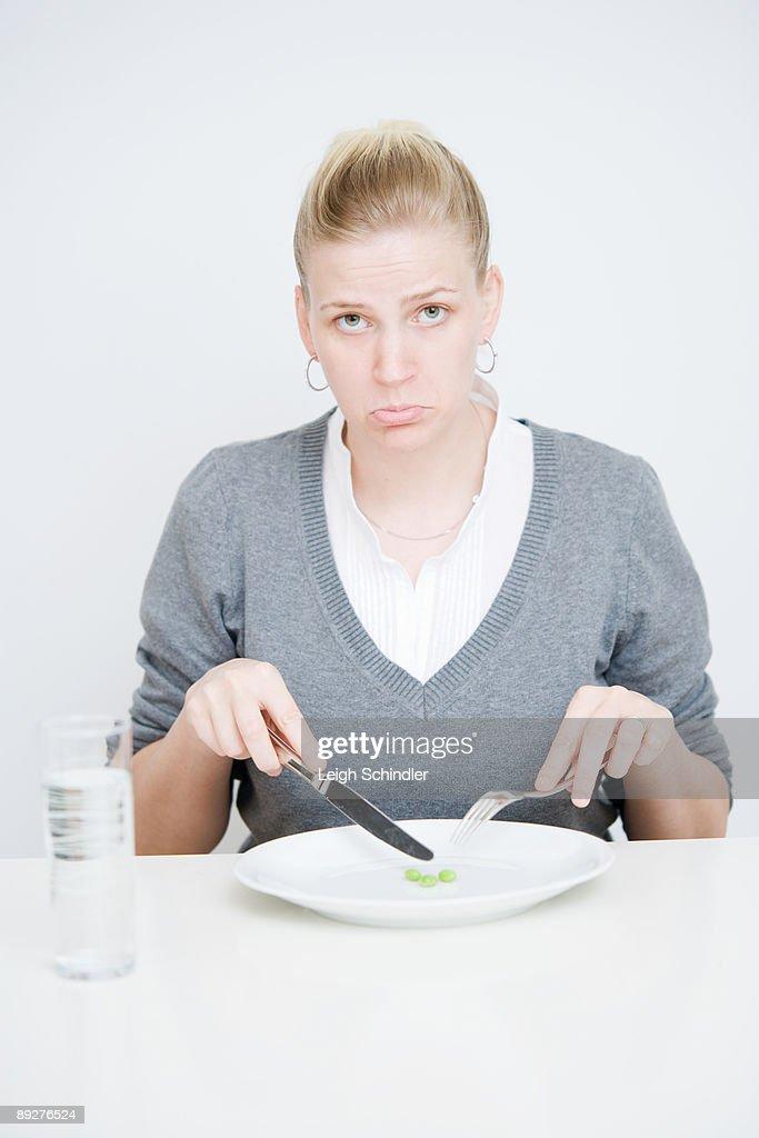 Woman diet : Stock Photo