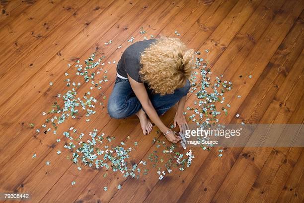 Frau tun puzzle