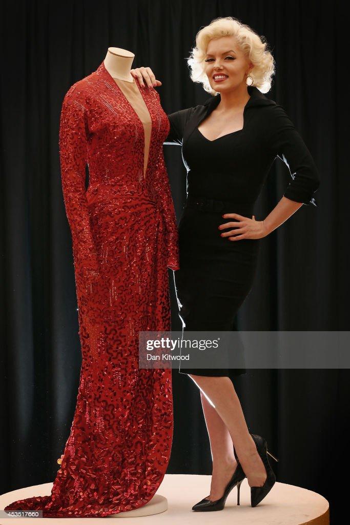 Платье с фото мерлин монро