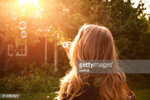 Woman enjoying the sun. : Stock Photo