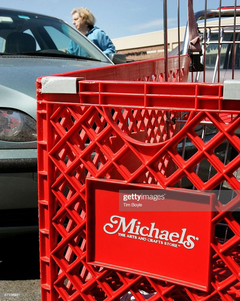 Michaels stores for sale getty images for Arts and crafts store nearby