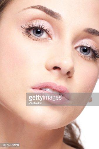 女性の顔 : ストックフォト