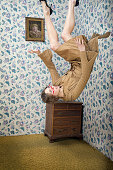 Woman Falls From the Ceiling of Her Vintage Living Room