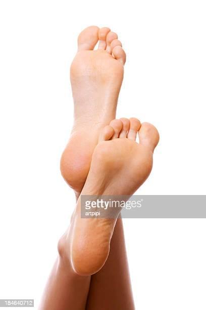 Frau Füße