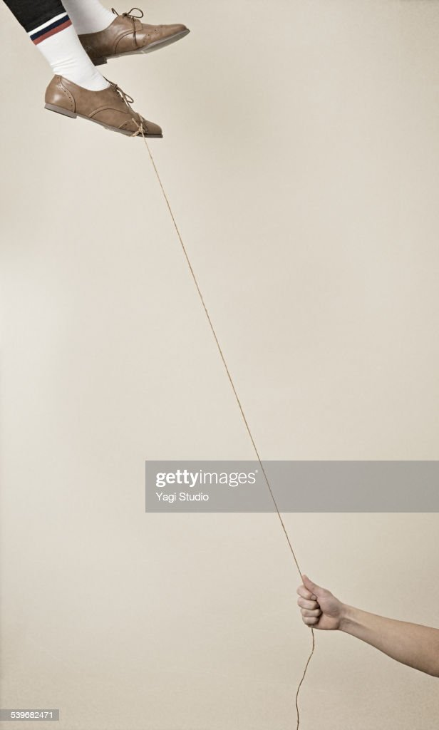 Woman floating : Photo