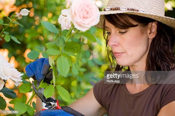 Jardinier femme