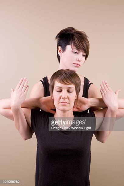 A Woman Getting A Thai Massage