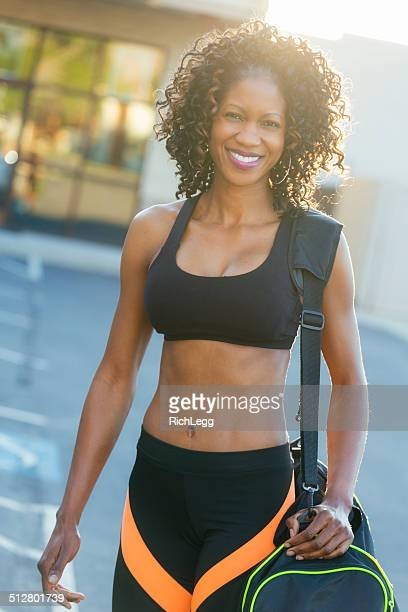 Woman Going to Gym