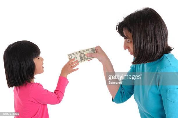 Frau Ausführender US-Dollar für Mädchen
