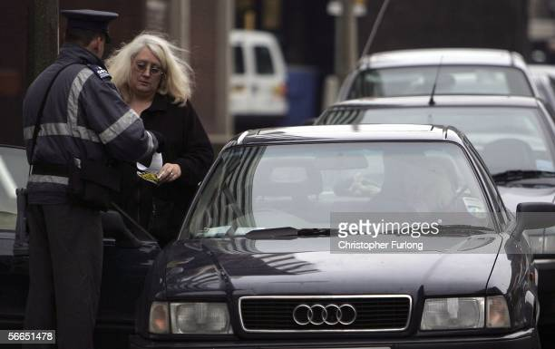 A woman has her day spoilt as she recieves a parking ticket on January 23 Preston England Scientists from Cardiff University have worked out a...