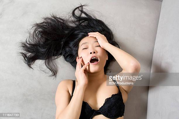 woman having an orgasm