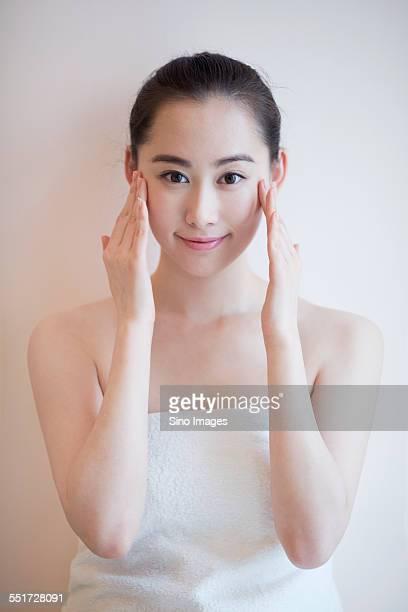 Woman Having Beauty Treatment