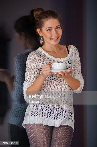 Woman in beautiful dress : Stock Photo