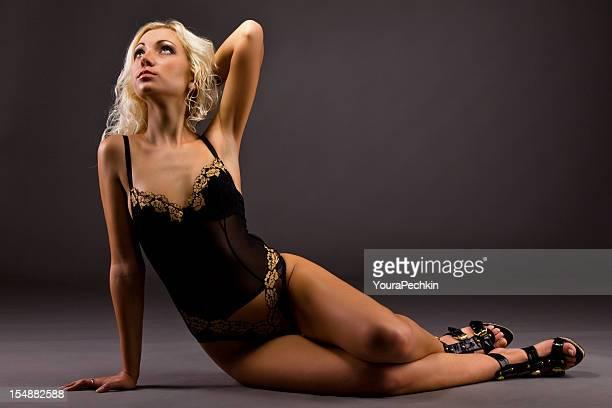 Woman in beautiful lingerie