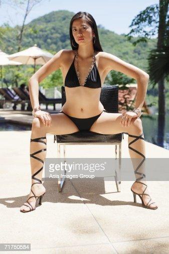 Bikini high heels